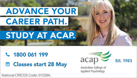 Advance Your Career Path. Study at ACAP