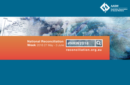 National Reconciliation Week 2018 AASW tile