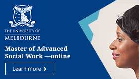 Master of Advanced Social Work - online - learn  more