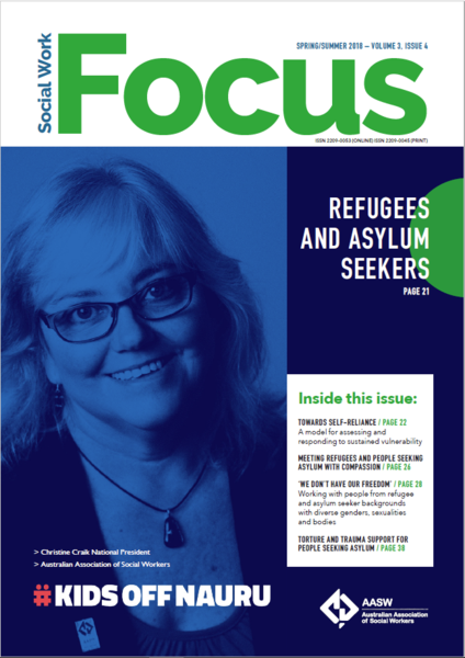Social Work Focus - winter edition - Diana Chessell