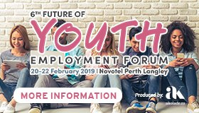 6th Future of Youth Employment Forum - 20-22 February 2019 Novotel Perth
