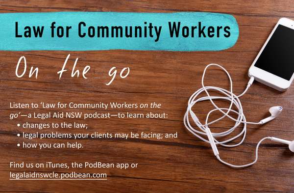 Law for Community Workers on the go