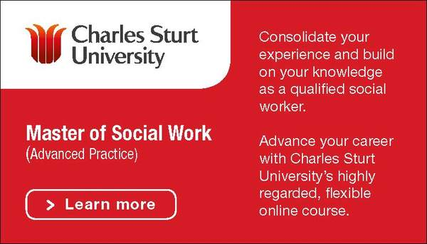 Charles Sturt University Master of Social Work Advanced Practice