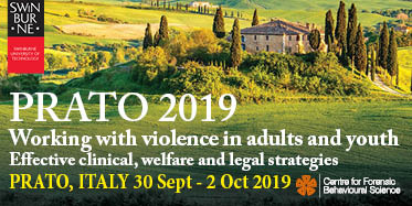 Prato 2019 Working with violence in adults and youth Swinburne University - Prato, Italy