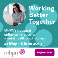 Working Better Together MHPN's inaugural online conference for mental health practitioners