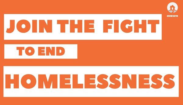 Join the fight to end homelessness