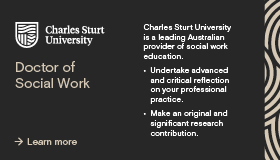 Charles Sturt University Doctor of Social Work