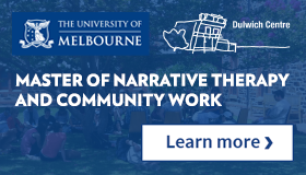 Master of Narrative Therapy and Community Work