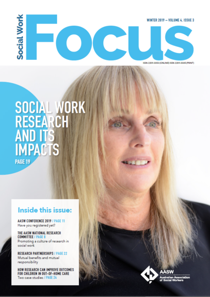 Social Work Focus: Social work research and its impacts