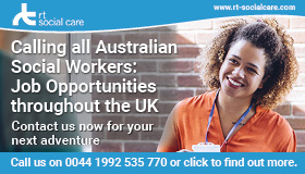UK jobs for Australian social workers