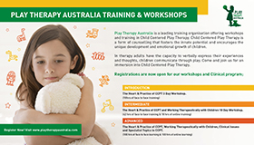 Play Therapy Australia training and workshops