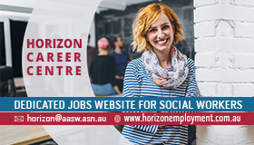 Horizon Career Centre: Dedicated Jobs website for social workers - girl smiling