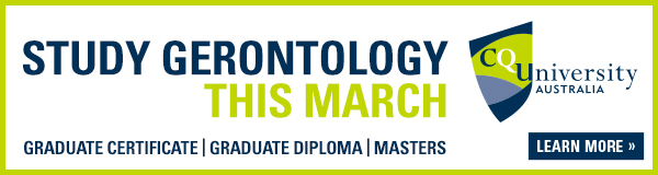 Study Gerontology This March: CQU