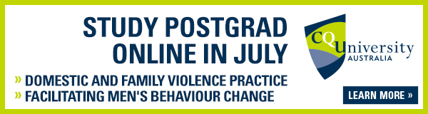 Study Postgraduate Online in July - Domestic and Family Violence