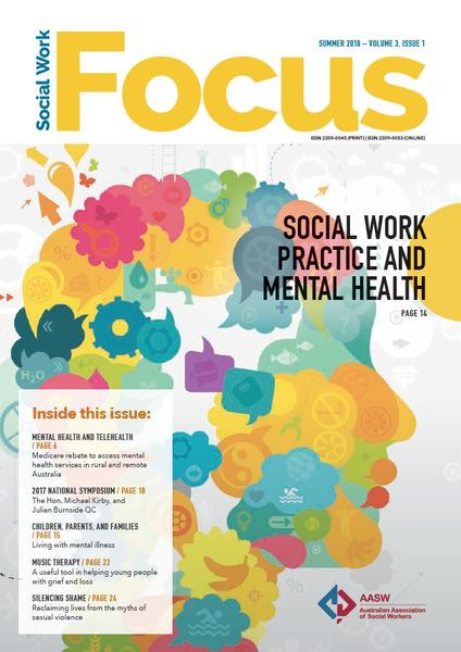 Cover of Social Work Focus: Social Work Practice and Mental Health