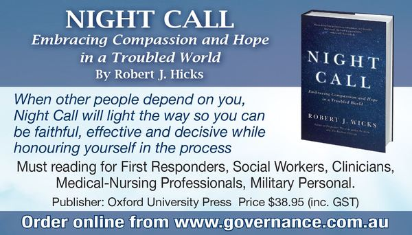 Night Call: Embracing Compassion and Hope in a Troubled World by Robert J. Hicks