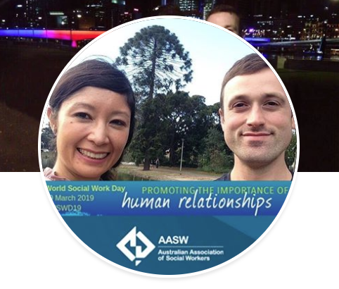Facebook frame AASW World Social Work Day