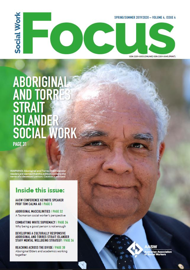 Tom Calma AO: Aboriginal and Torres Strait Islander social work
