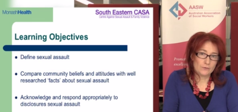 SWOT: Responding to disclosures of sexual assault