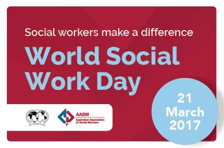 World Social Work Day 2017 - Video message from the AASW National President Professor Karen Healy AM
