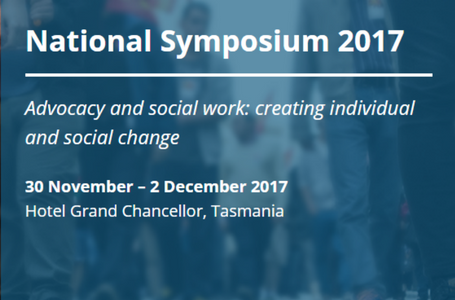 AASW Media Release: National Symposium 2017