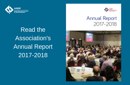 AASW Annual Report 2017-2018 is now available