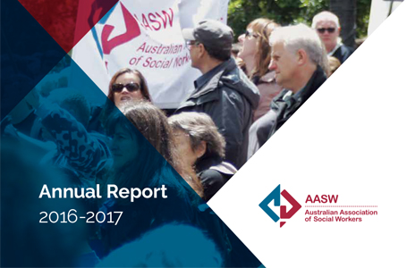 AASW Annual Report 2016-17 is now available